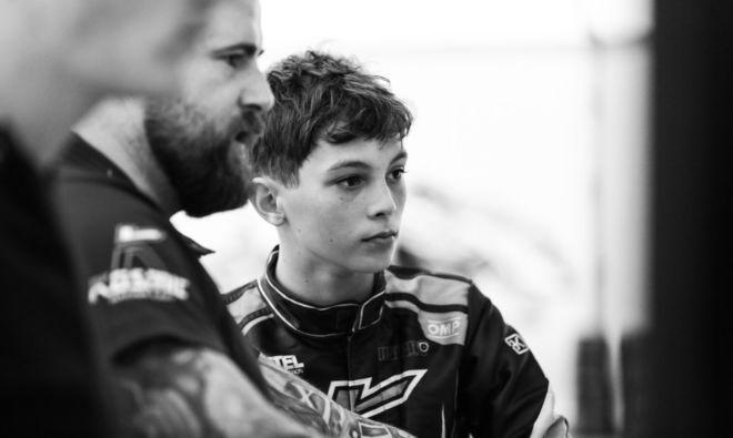 Ollie Bearman / Oliver Bearman Karting